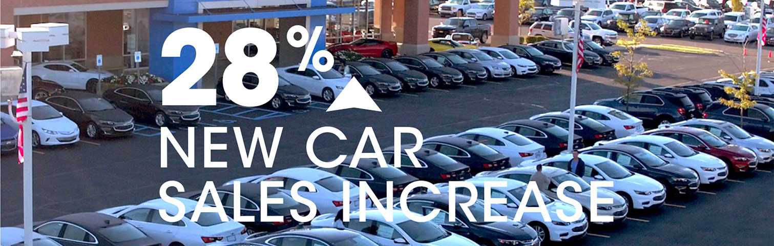 Feldman Automotive Group saw a 28% new car sales increase