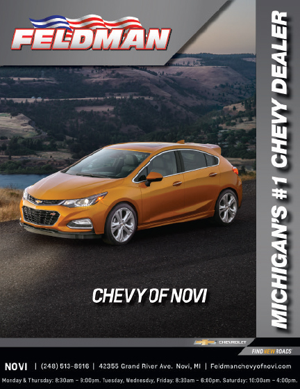 example of a digital ad for Feldman Automotive Group